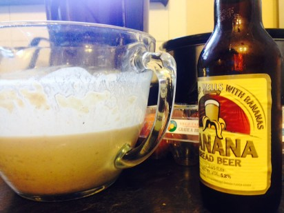 Banana Beer Pancake Batter