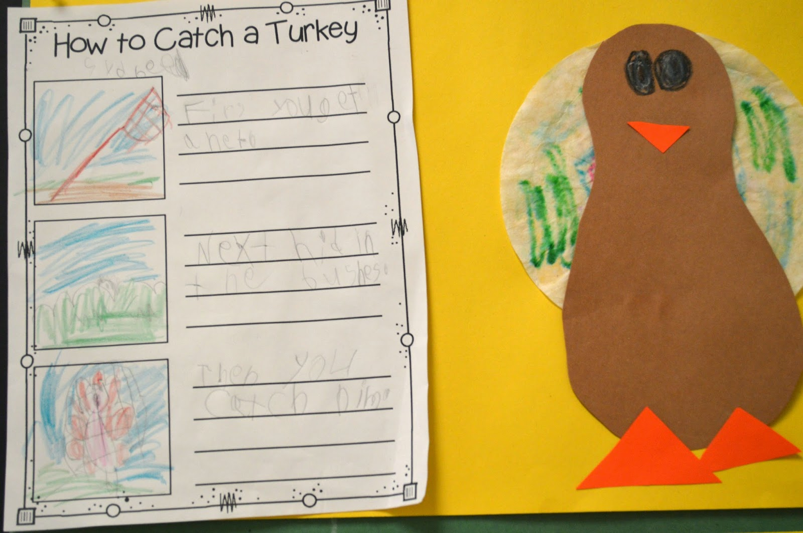 hight resolution of How to Catch a Turkey! Procedural Writing - Mrs. Jump's Class