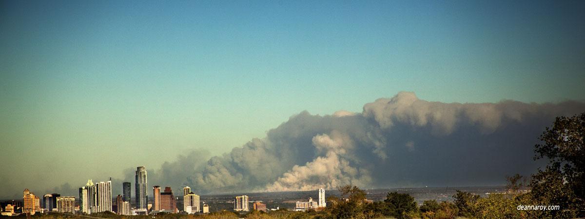 Fire in Texas