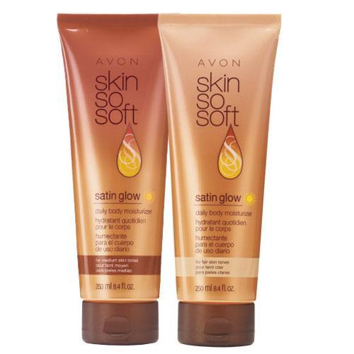 Skin So Soft Satin Glow Daily Body Moisturizer