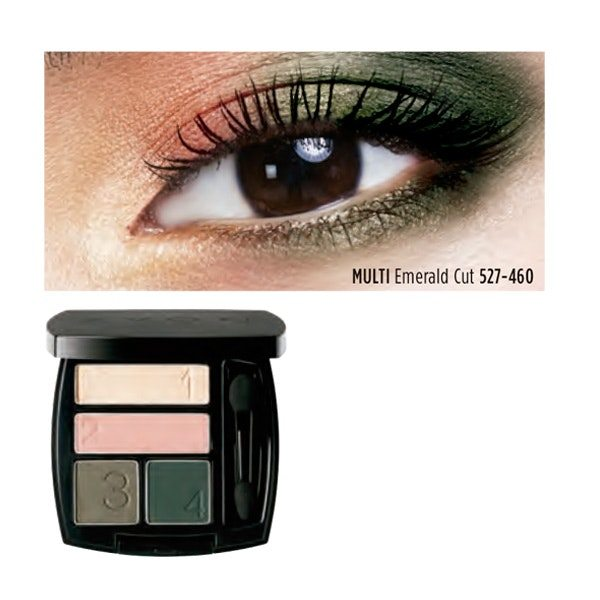 Avon's True Color Multi-Finish Eyeshadow Quad