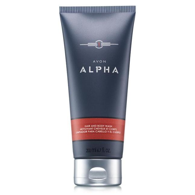 Alpha After Shave Conditioner and Hair & Body Wash