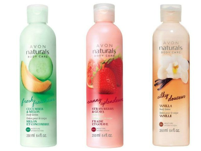 Avon Naturals Body Lotion
