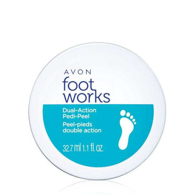 Avon's Foot Works Beautiful Dual Action Pedi-Peel