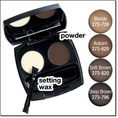 Avon True Color Perfect Eyebrow Styling Duo