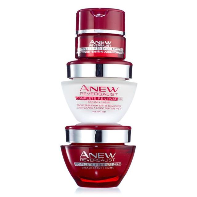 Avon Anew Reversalist Line Free Regimen