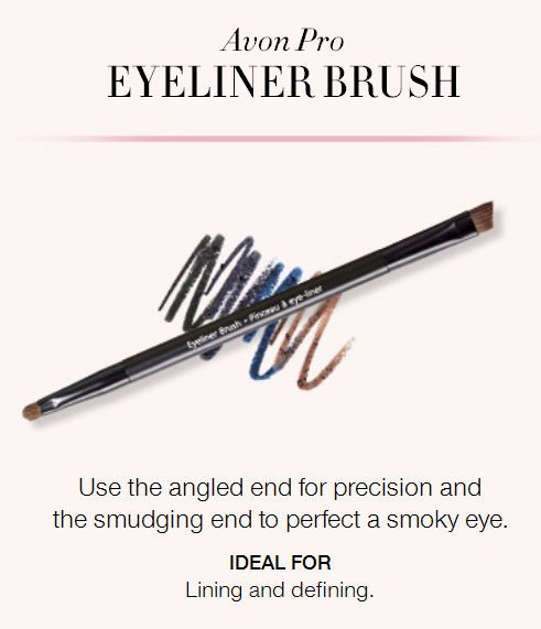 Avon's makeup brushes