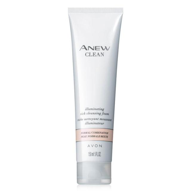 Avon's Anew Clean Illuminating Rich Cleansing Foam
