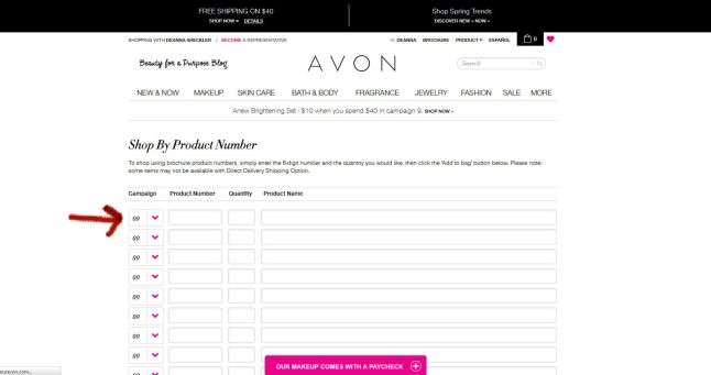 How to Place a Back Order on the Avon Website