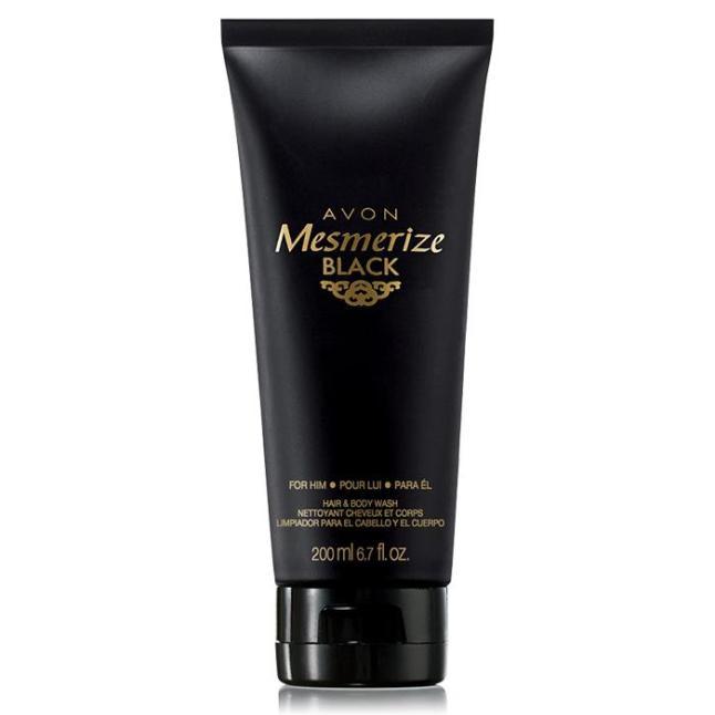 Mesmerize Black Hair & Body Wash