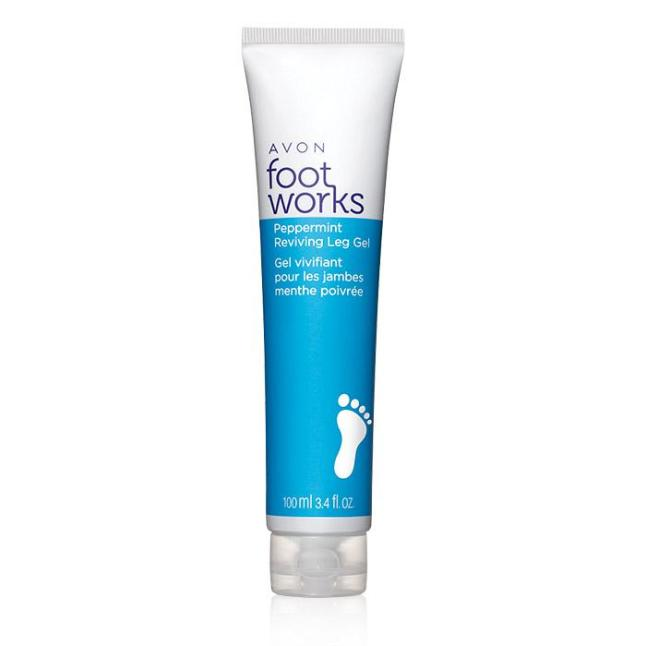 Avon Foot Works Peppermint Reviving Leg Gel