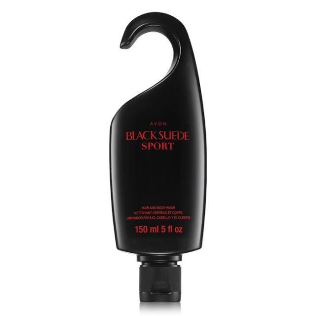 Avon Black Suede Sport Hair & Body Wash