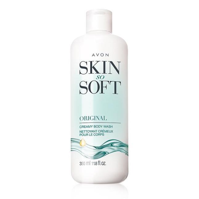 Avon Skin So Soft Original Creamy Body Wash
