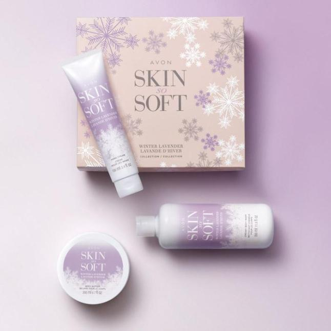 Skin So Soft Winter Lavender Collection