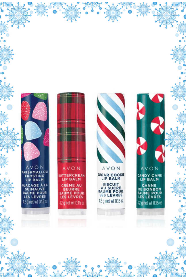 Avon Holiday Lip Balms