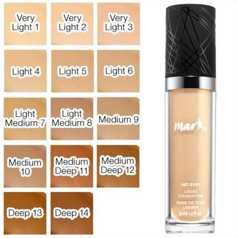 mark. By Avon Get Even Liquid Foundation