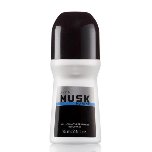 Avon Musk Marine Roll-On Antiperspirant Deodorant