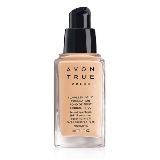 Avon True Color Flawless Liquid Foundation