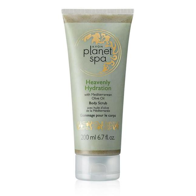 Avon Planet Spa Heavenly Hydration Body Scrub