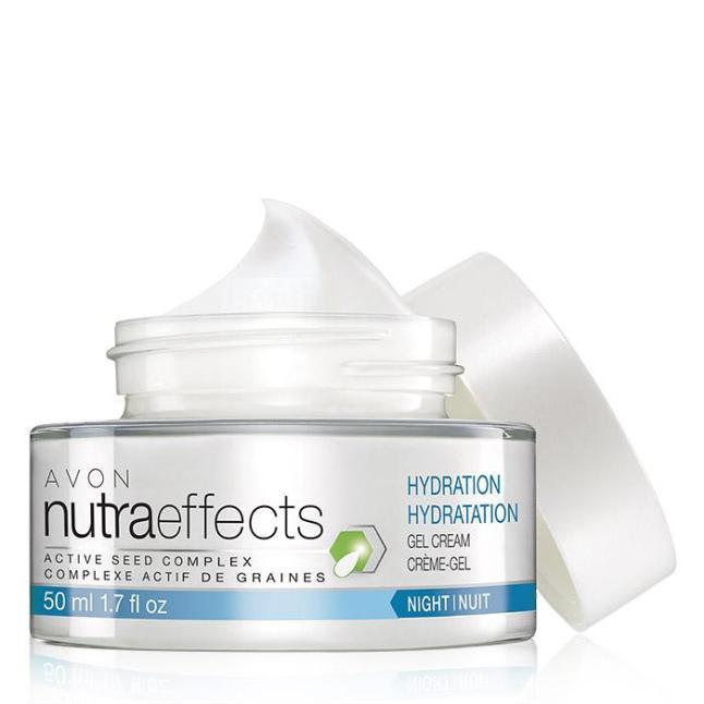 Avon nutraeffects Hydration Night Gel Cream