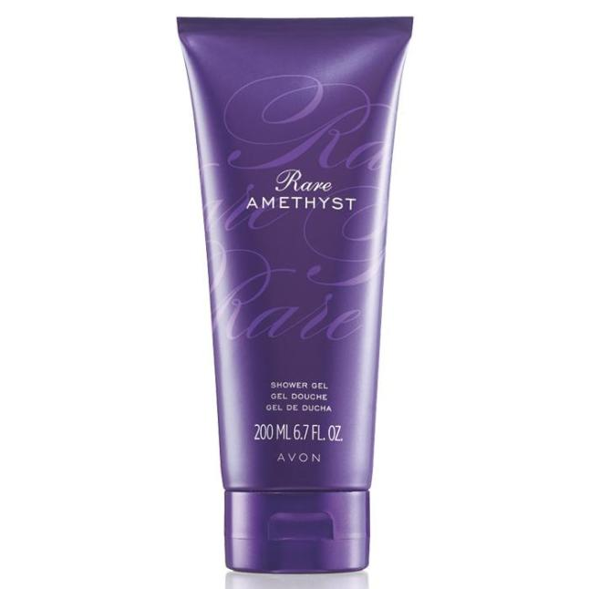 Avon Rare Amethyst Shower Gel