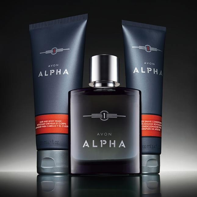 Avon's Alpha After Shave Conditioner and Hair & Body Wash