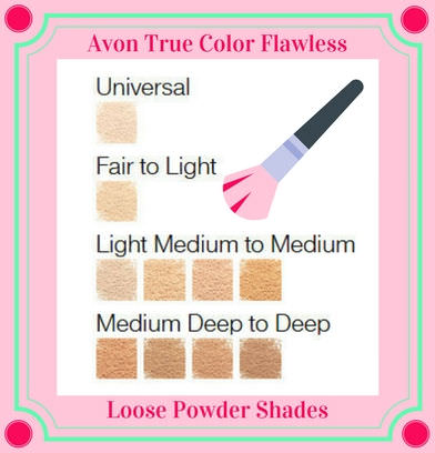 Avon True Color Flawless Loose Powder