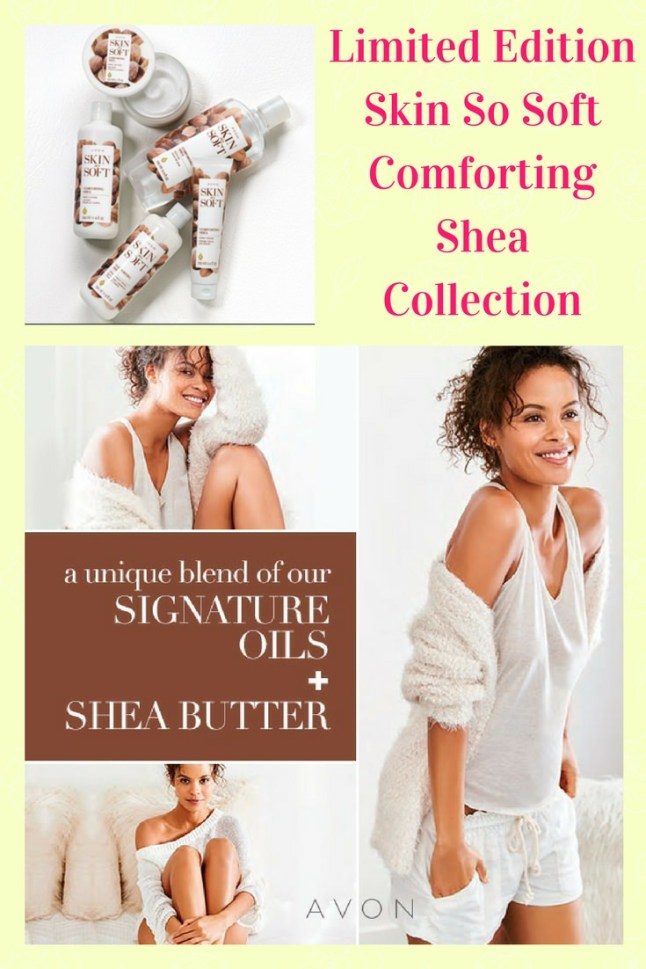 Skin So Soft Comforting Shea Collection