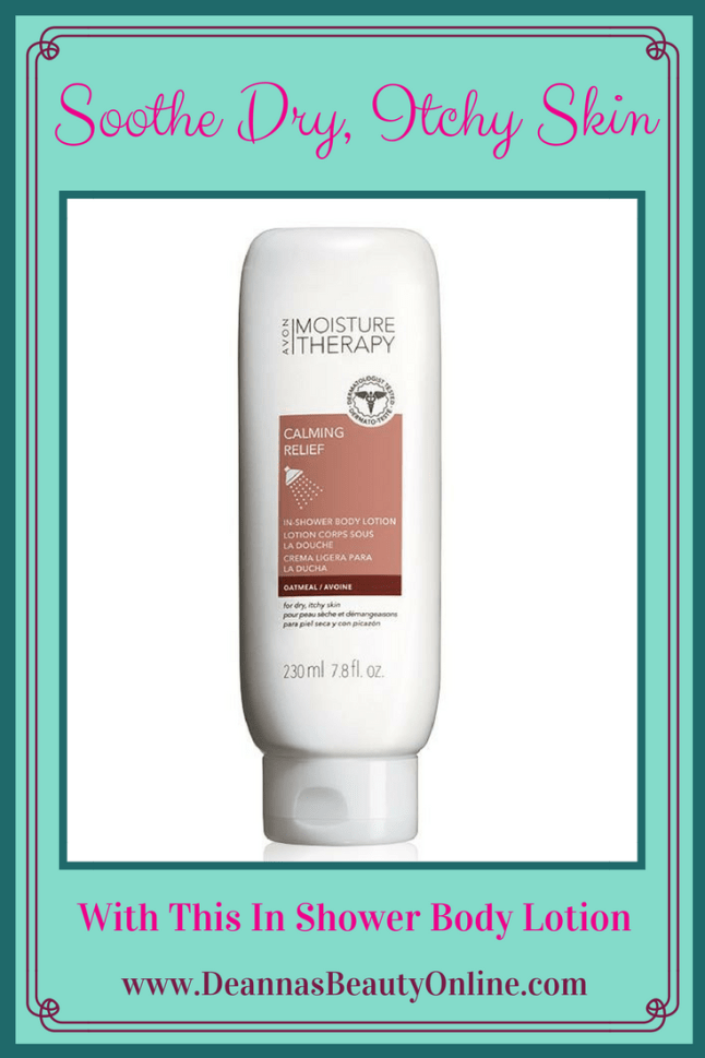 Soothe Dry, Itchy Skin in the Shower
