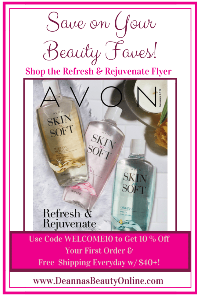 Avon's Latest Savings Flyer