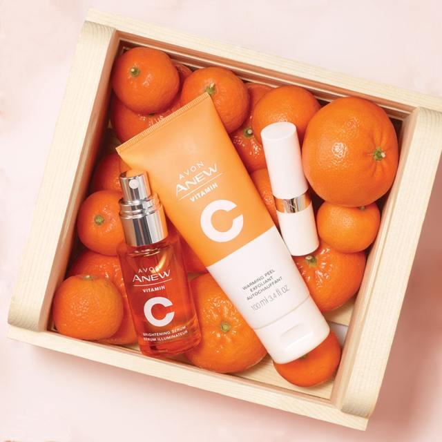 vitamin c warming peel