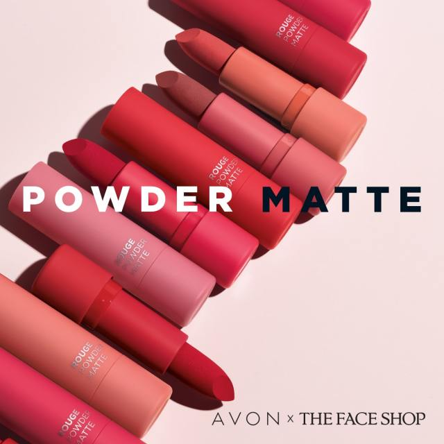 rouge powder matte lipstick