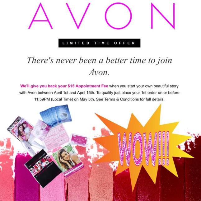 Sign Up to Sell Avon for FREE