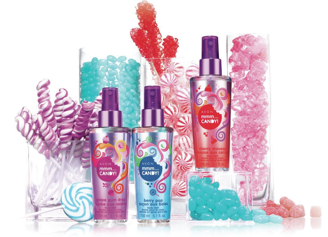 Image result for avon mmm...candy body mists
