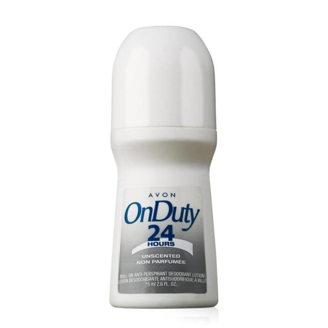 On Duty Unscented Bonus-Size Roll-On Anti-Perspirant Deodorant