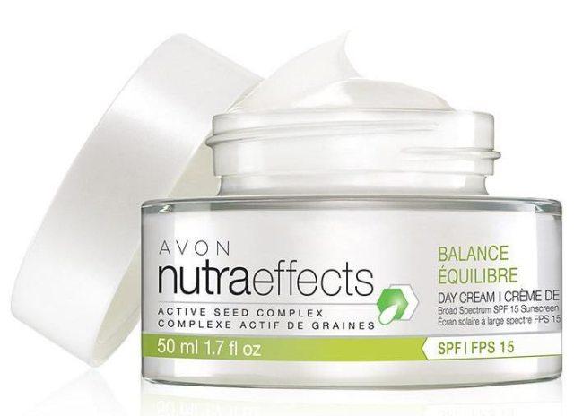Avon nutraeffects Balance Day Cream SPF 15