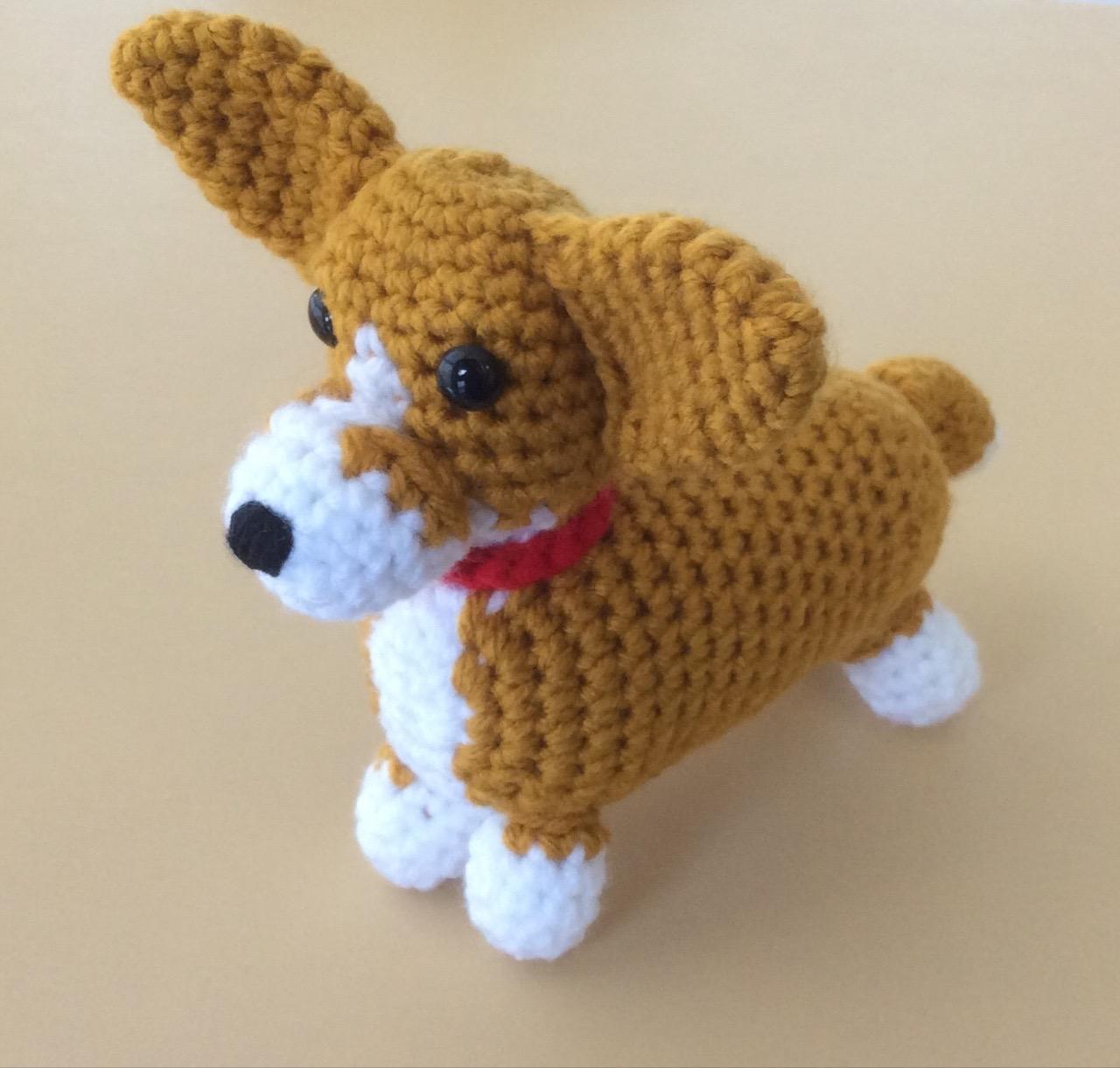 Corgi Sploot Crochet PDF pattern | Etsy | 1221x1280