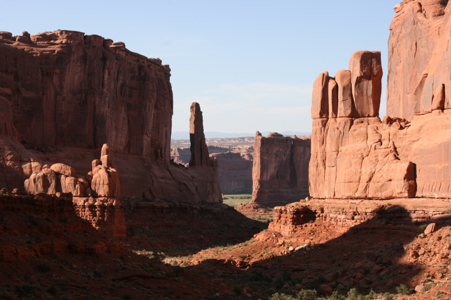 Arches National Park: Park Avenue