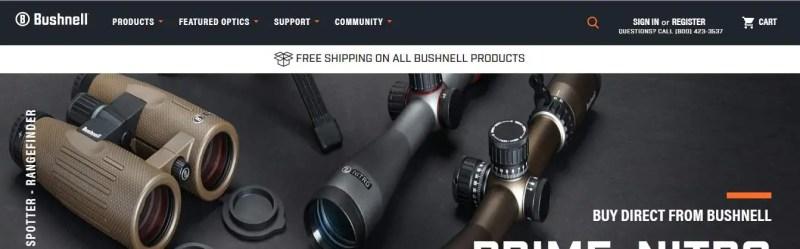 Bushnell Optics and Binoculars