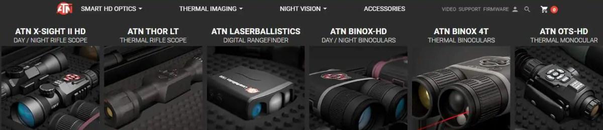 ATN CORPS binoculars