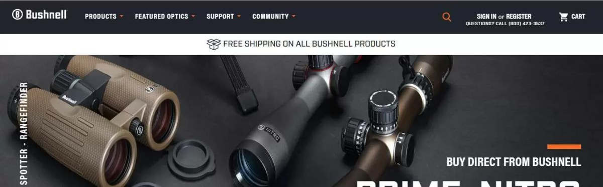 Bushnell binoculars made in america