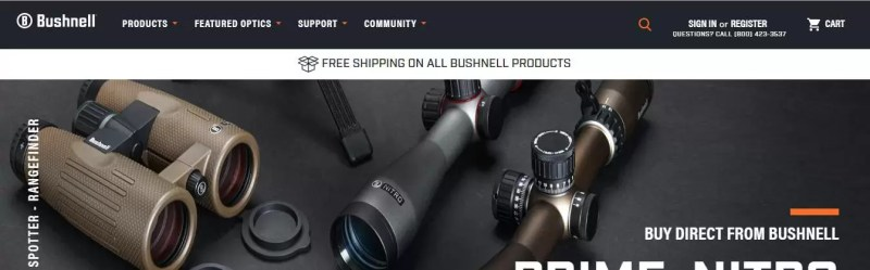 Bushnell binoculars made in america