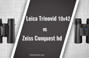 comparing Leica Trinovid vs Zeiss Conquest HD binoculars