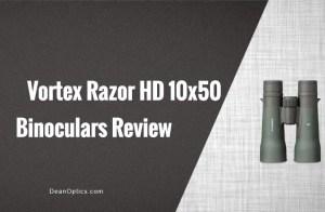 vortex razor hd 10x42 or 10x50