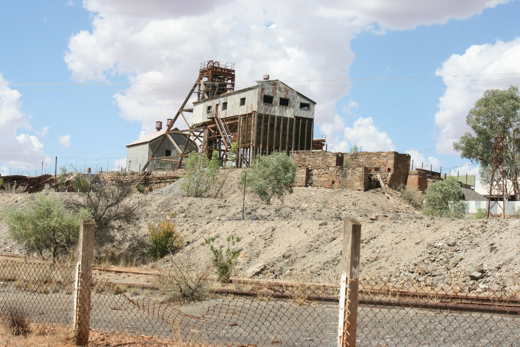 Remnants of the Past: The Old Junction Mine, Broken Hill