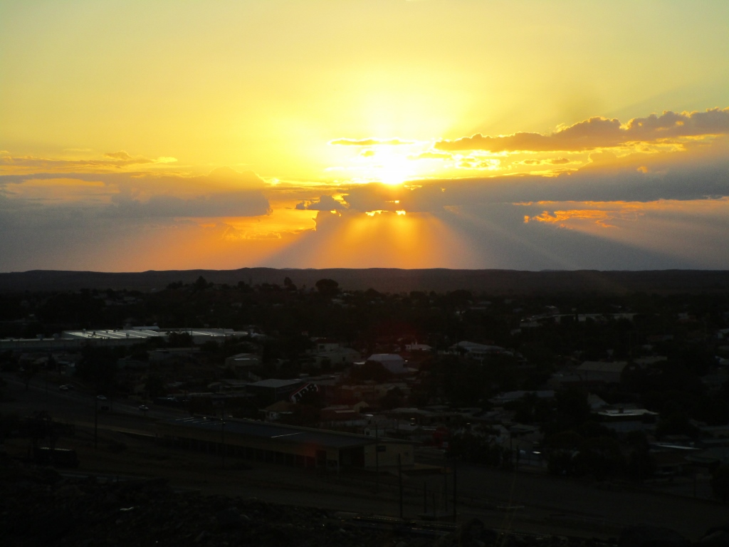 Broken Hill Sunset