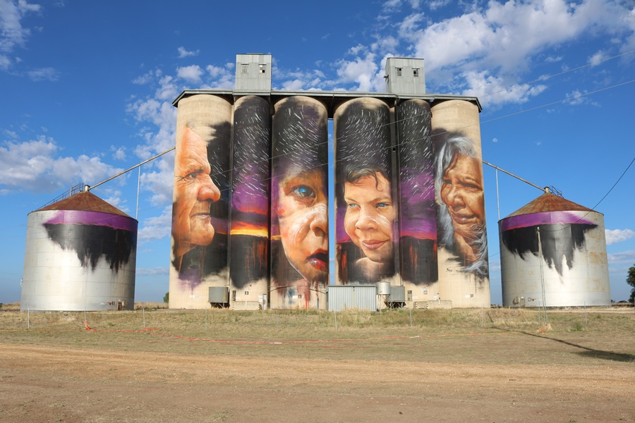 The Stunning Silo Art Trail of the Wimmera-Mallee