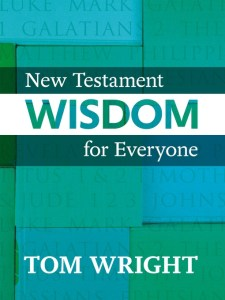 Book Review: New Testament Wisdom For Everyone @SPCKPublishing