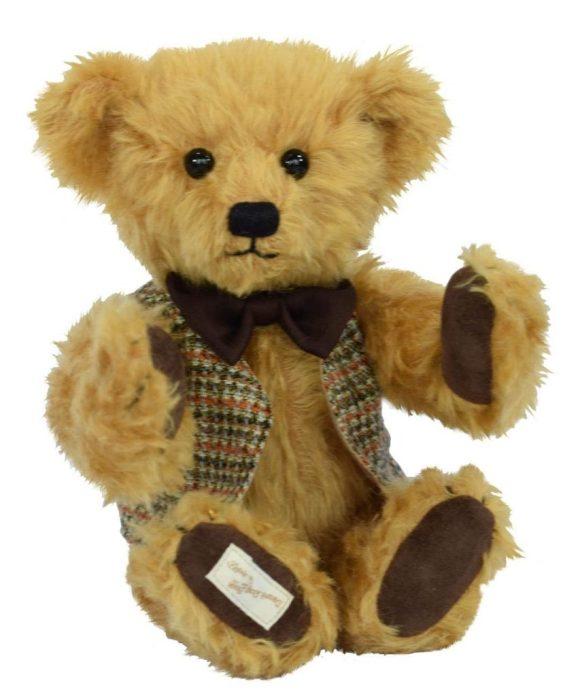 Deans - Dusty Teddy Bear - Mohair Plush - Limited Edition