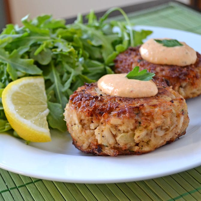 Creole Crab Cakes Family Meal